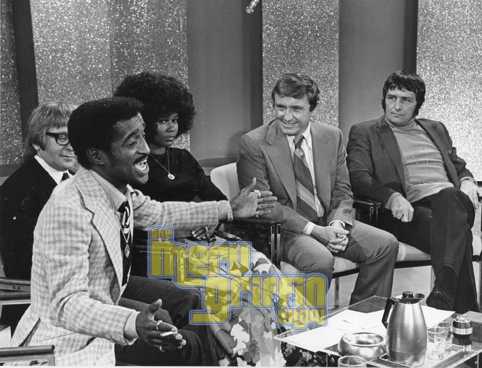 Sammy Davis, Jr., Arte Johnson, unknown guest, Richard Dawson