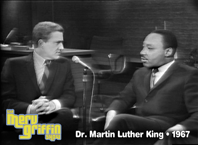 Dr. Martin Luther King, Jr. on The Merv Griffin Show- July 6, 1967