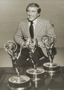 Merv Grififn with Emmys