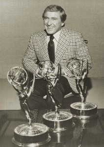 Merv Grififn with Emmys
