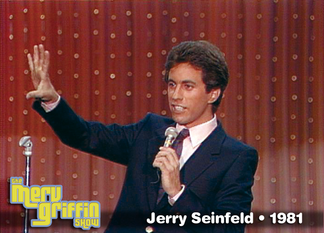 Jerry Seinfeld's first appearance on national television- July 13, 1981