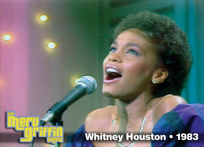 Whitney Houston's first appearance on national television - June 23, 1983.