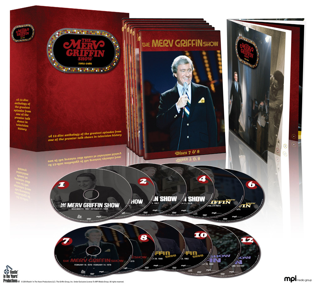 Merv Griffin Show DVD set